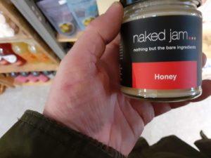 Honey Label Review Naked Jam - Honey