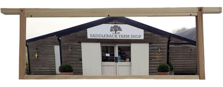 Saddleback Farmshop, Farnborough, Berkshire, Set into a Hive Frame