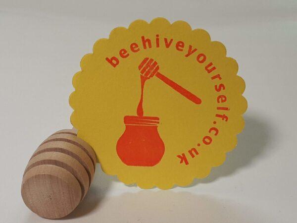 Wooden Honey Spoon (Honey Dipper)