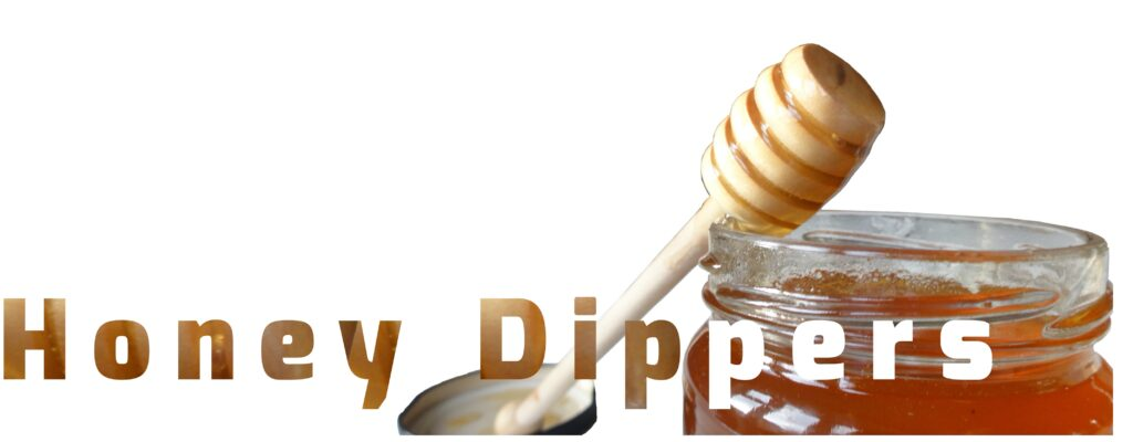 Honey Dippers, also know as Honey Spoons at Beehive Yourself
